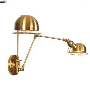 IWHD Ajustável Swing Longo Braço De Parede Luminárias Quarto Banheiro Espelho Espelho Stair Loft Industrial Vintage Wall Lamp Sconce Edison1