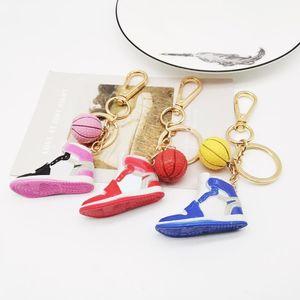 Portachiavi da basket all'ingrosso di alta qualità portachiavi di alta qualità e porta a catena chiave Brand Design Porta portachiavi