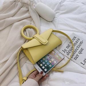 2020 новый дизайнер Super Star Bag Candy Colors Messenger Сумки Леди Круг Ручка Кожаная сумка Женщины Портативные Сумки на плечо Бесплатная Доставка