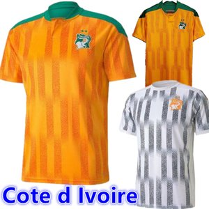 Cote d Ivoire national team Soccer Jerseys ivory coast DROGBA KESSIE ZAHA CORNET MEN homme Maillot de foot football man Uniforms 2020 2021