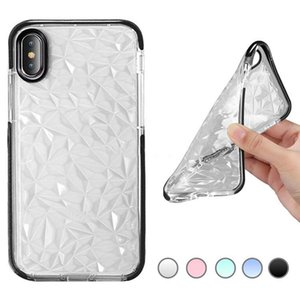 For iPhone 12 11 XS MAX XR 8 Galaxy S10 S10 PLUS Clear Soft TPU Phone Case Ultra Thin Protective Cover in OPP Package