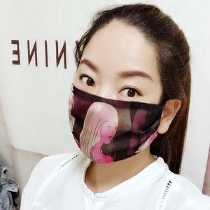 Frauen Gesichtsmaske Sommer Eis Seide Leopard Dot Print Masken Sonnenschutz Atmungsaktiv Reiten Sunshade Sun Cover Ewa1921