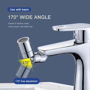 720°Universal Swivel Kitchen Faucet Aerator Adjustable Dual Mode Sprayer Filter Water Saving Nozzle Faucet Kitchen Gadgets 24MM