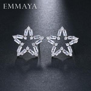 EMMAYA luxe Big Star Boucles d'oreilles pour les femmes Lady authentique Bijoux cadeau original