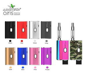 Original Airis Janus Box Mod Vape Mod Battery E Cigarette Battery With Two Connections for 510 Cartridges & Thick Oil Pods 650mAh VV Battery