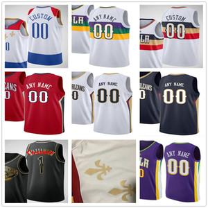 مخصص مطبوعة صهيون 1 Williamson Brandon 14 Ingram Lonzo 2 الكرة إريك 6 بليدسو ستيفن 12 آدمز جوش 3 هارت الرجال امرأة الاطفال كرة السلة الفانيلة