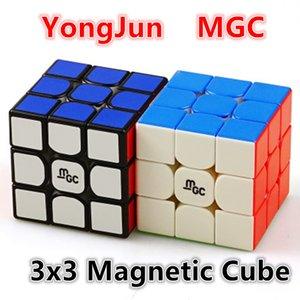 Yongjun 3x3x3 Velocidade Magnética MGC 3x3 Cubo Magic Puzzle Mago Cube 201226