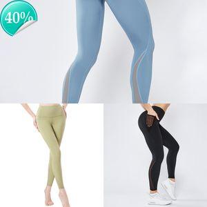 Pocket Acefancy Gym Sport Donne Vita alta Fitness T1901 Sport Abbigliamento Pantaloni Yoga Leggings 2Y1F