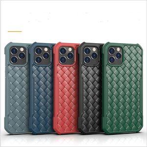 Shockproof Soft TPU Braided Phone Case for iphone 12 Pro max 6.7 Mini Ultra Slim