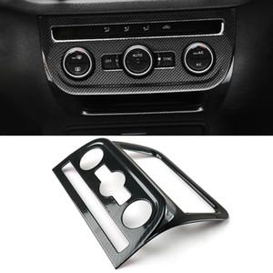 VW Volkswagen Tiguan 2007-2017 için Araç Aksesuarları Merkezi Konsol Paneli Topuz Çıtası Sticker Kapak Karbon İç Dekorasyon