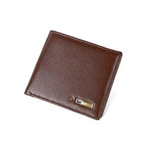 Противоугонный короткий Bluetooth кошелек Smart Anti-Tobly Iteyial Howhide кожаный трекер GPS-локатор Fabala Counle