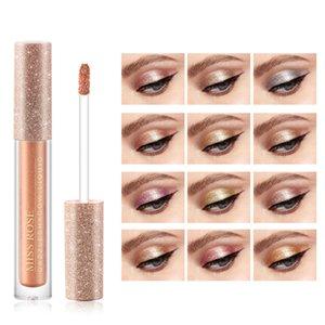 3.5G Pcs Liquid Dazzle Eye Shadow Shimmer Glitter Easy Wear Brighten 12 Colors To Choose Hot Sale Items