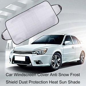2pcs Pare-brise Couverture Anti neige Gel Shield Protection poussière chaleur Pare-soleil ACEE #