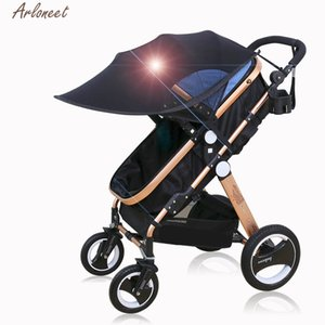 ARLONEET Baby Care Shade Kids and Mother 1pc Strollers and Car Sun Shade Black Blue Strollers Easy Elastic Leica Shade 201026