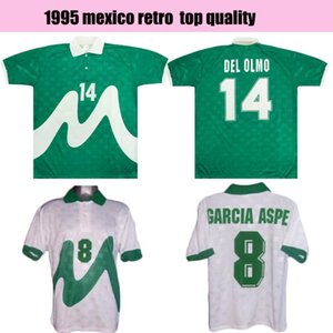 MAN 1995 Retro classic Mexico soccer jersey 95 HERNANDEZ classic vintage uniform home away