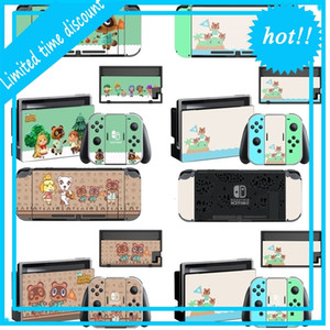 Animal Crossing Screen Protector Skin Sticker for Nintendo Switch Ns Console Dock Charger Stand Holder Joycon Controller Case