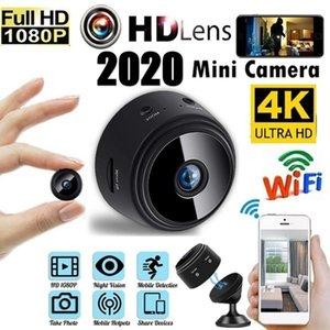 Cámara A9 mini cámara 1080P HD lleno Pequeño IP de Wifi mini videocámara de infrarrojos de visión nocturna micro de la cámara de detección de movimiento de soporte telefónico APP