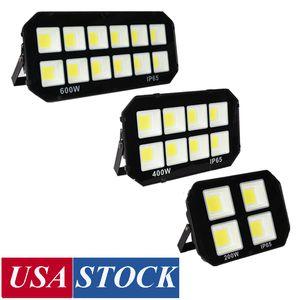 outdoor led flood lights ,100W 200W 300W 400W 500W 600W led landscape lighting , Waterproof ip65 , led floodlights USA Stock