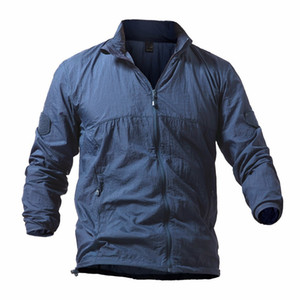 5XL men's quick drying skin in summer, clothing camping, hiking, swimming, fishing tactics shirt, thin cap, anti ultraviolet coat