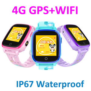 4G Child Smart watch Remote Camera GPS WI-FI Kids Students SOS Video Call Monitor Tracker IP67 Waterproof DF33 Wristwatch
