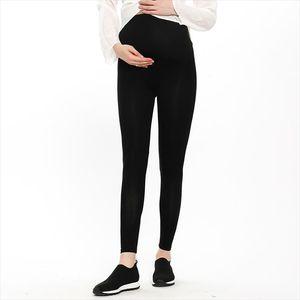 Jambières réglable Taille Plus longueur cheville maternité Pantalon Leggings enceintes Pantalons femmes mince et souple taille haute de haute qualité