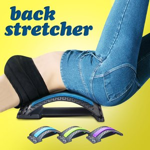 3 Levels Lumbar Relief Back Massage Stretcher Waist Support Spine Trainer Relieve Spinal Equipment Orthopedic Back Stretcher 201124