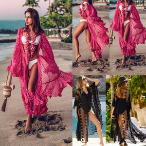 Sheer Bikini Cover Up Femmes Maillots de bain Maillot de bain Summer Beach Sundress