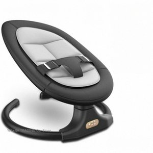 Bluetooth включен электрический Детские кресла-качалки, музыка Баланс Bouncer, Infant Свинг Колыбель, 5 класс качелей BABY Rocker с Timing t3Ol #