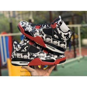 2018 Mens de luxo Designer marca de moda Zapatos de basquete homens Sports sapatos KAWS Cinza frio preto Cimento tênis branco da sapatilha de