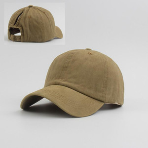 Luxury-Ponytail Baseball Caps Cowboy Messy Bun Hats Washed Cotton Snapback Cap Outdoor Sun Protection Peaked Cap