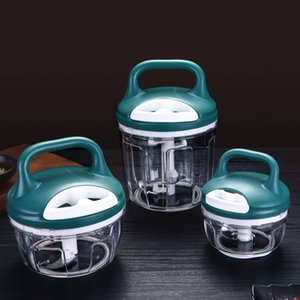 Многофункциональное мясо Vegatable Mincer Mincer Blender Mixer Manual Fruit Chopper Hachoir Viande Food Cutter E5JRJ