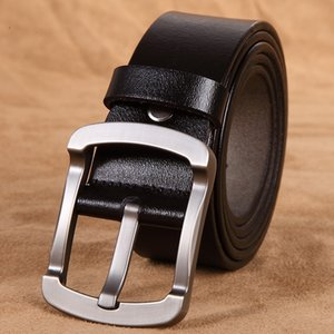 New product men's belt leather fashion retro single layer leather belt all-match leather belt factory direct sales