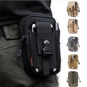 2021 New Men Waist Pack Bum Bag Pouch Waterproof Belt Waist Packs Molle Nylon Mobile Phone Wallet Travel Tool Bag1