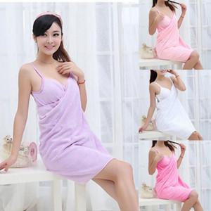 Home Textile TowelWomen Robes Bath Wearable Towel Dress Girls Women Womens Lady Fast Drying Beach Spa Magical Nightwear Sleeping