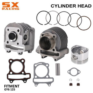 Engine Assembly Motorcycle Cylinder Piston Round Pipe Fitting Gaskets Circle Washers Iron Wires Silicone Caps For GY6 125cc 150cc Engines St