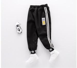 Children's wear children's Pants Boys' fashion anti cursor casual pants children's fabrics trendy soft Wei pants baby's thick Leggings