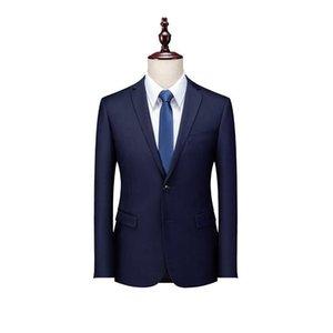 Männer Anzüge Blazer Büroanzug Business Work Formale Casual Jacke Slim Hochzeit Bräutigam Party Prom Bankett Tägliches Leben Schwarz Navy Blau Grau