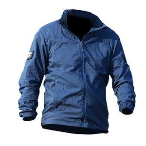 Army Military Skin Jackets Tactical Lightweight Waterproof Jacket Men Summer Breathable Thin Hoody Raincoat Portable Windbreaker 201023