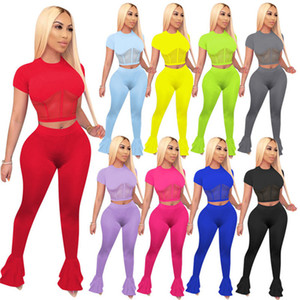 Womens designer tracksuit jacket leggings 2 piece set outfits outerwear tights yoga sport suit short sleeve cardigan pants klw6058