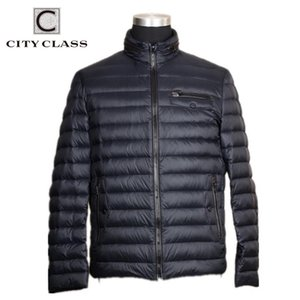 CITY CLASS New Down Coat Spring Autumn Fashion Duck Down Jacket Coat Lightweight Soft Windproof Hot Sale for Male 9034 201022