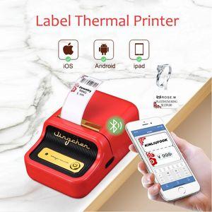 Niimbot B21 Thermal Label Printer Mini Portable Handheld Barcode Bluetooth Wireless Printer Machine For Jewelry Clothing