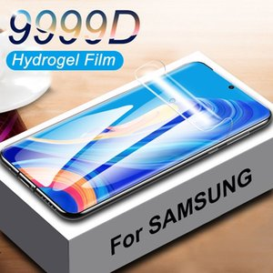 9999D Screen Protector For Samsung Galaxy S10 S20 Plus Ultra Full Cover Hydrogel Film For Samsung A10 A20 A30 A50 A70 Not Glass