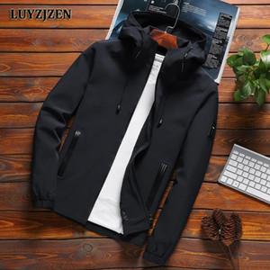 Veste bombardière hommes imperméables minces Mens vestes Solid Couleur Spring Spring Automne Casual Jacket Manteau de manteau pour les vêtements masculins