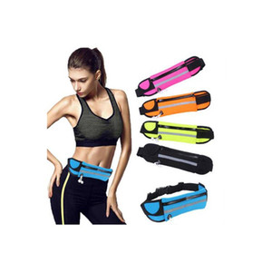 Adjustable Waterproof or Breathable Men Women Running Waist Bag Fitness Belt Pack Mobile Phone Holder Jogging Sports Water Bag