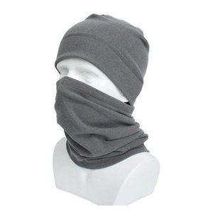 Hat And Scarf Set Cycling Face Mask Rabbit Wool Winter Warm Wrap Neck Ring For Men And Women Sport Hats S wmtokM whole2019