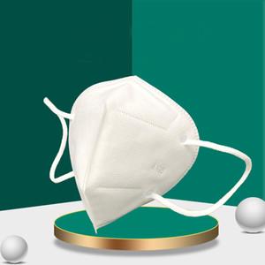 Маска для лица 6 слой фильтр одноразовые маски для лица нетканые маски рта PM2,5 анти загрязнение против пыли унисекс защитная безопасность белый
