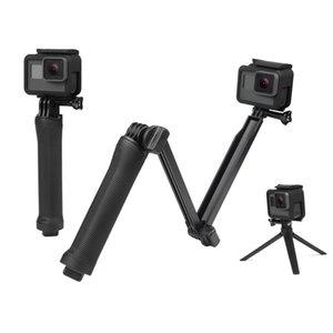 방수 모노 포드 셀카 스틱 GOPRO 영웅 5 4 3 세션 ek7000 샤오 미 이순신 4K 카메라 삼각대 이동 액세서리 프로