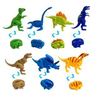 10PCS Deformed egg Dinosaur party favor boy party supply gift Jungle tropical party favor souvenir cute giveaway