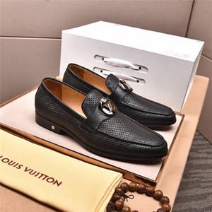 2020 남자 캐주얼제목LOUİSvv.Vuİtton 럭셔리 혼합 색상 로퍼 패션 사회 신발 LD Linda Della Shoes A02
