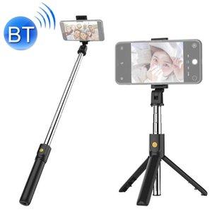 K07 بلوتوث 40 الهاتف المحمول قابل للتعديل بلوتوث selfie عصا الذاتي الموقت القطب ترايبود